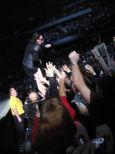 Bono in the crowd